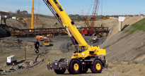 Rent A Rough Terrain Crane