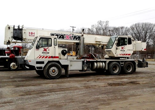 Used Hydraulic Truck Terex T340 For Sale