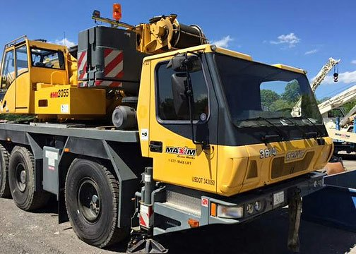 Second Hand Crane Grove GMK3055