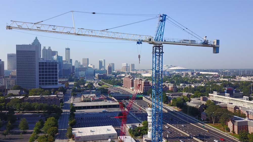 maxim crane tower crane
